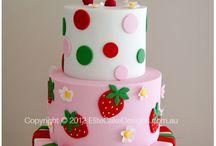 Girl cake themes