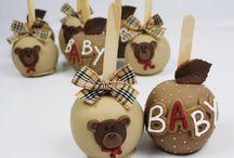 Maçãs decorativas