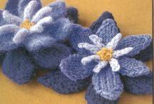 HANDWERK bloemen maken / by Driessens Mieke