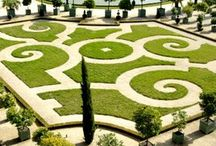 giardini storici e fontane .