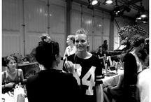 Behind the Scenes - Fashion show SS 2014 / Behind the scenes from last night's Fashion Show.