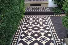 Style ~~ Period Tiles / Heritage geometric and tessellated tiles for that gorgeous Victorian and Federation look