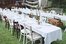 Wedding Table and Chairs
