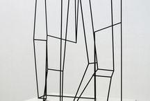 escultura ferro