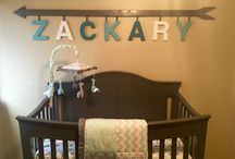 Arrow Nursery Boy / Arrow Nursery Theme - Boy Nursery Idea