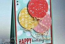 Cards SU Celebrate Today / by Debbie Peters