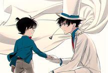 Kid and Shinichi