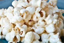 popcorn , nuts and mixes