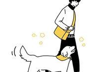 강아지 다이어리