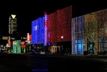 Downtown In December / Holiday events and attractions in Oklahoma City.