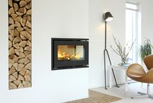 RAIS 500 / The #RAIS500 #fireplace is an #insert and does not take up place in your #livingroom. #homedesign with #RAIS.