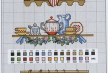 crossstitch kitchen
