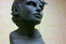 Sculpture / creta