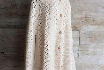 Ladies Crochet Coats