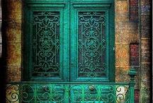 Doors, stairs, paths