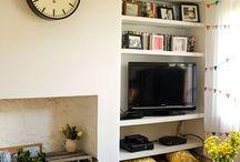 haard en tv