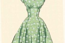 Vintage dress and other thinks