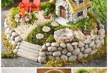 Puutarha miniatyyri