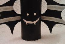 DIY HALLOWEEN / pomysły Halloweenowe dekoracje/Halloween dekorations etc.