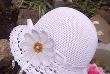 horgolt sapka, kalap