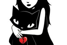 Emily the Strange / I love this girl awesome style and love how she is GOTH I love Emily