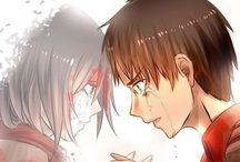 Eren y Mikasa ❤️❤️❤️❤️