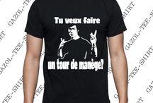 Bruce LEE T-shirt Tu veux faire un tour de manège?