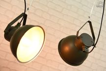 Old military lamps