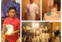 Kids chef / At ritz jakarta