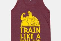 Trainning t-shirt