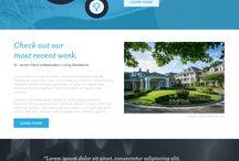 Web Design Comps