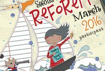 2016 ReFoReMo- Reading for Research Month Challenge / A collection of picture book education posts from the 2016 Reading for Research