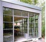 STAINLESS STEEL WINDOWS AND STEEL HANDRAILS