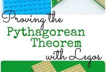 Pythagorean Theorem Strategies / Strategies to teach the Pythagorean Theorem.