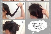 Haar/ make-up