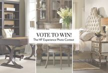 Snap. Share. Win! / Thank you for sharing photos of Hooker Furniture in your home, or voting on your favorite entries for a chance to win up to $2,500 in furniture of your choice! We are loving how HF furnishings look in your home! Contest ended February 17, 2016.