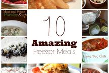 Easy Freezey / Freezer meals / by Co-Pilot Mom