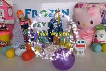 Frozen Fever / Frozen Fever play doh