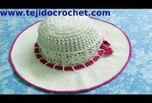 kalap horgolás videó