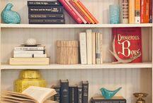 Bookshelves / by Audrey Abraham