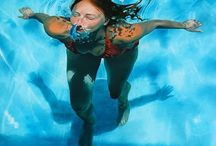 Underwater realistic paintings / Board dedicated exclusive for #paintings that have the #water element.