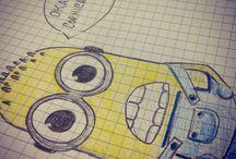 Drawings  / All my drawings