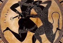 Teseo y Heracles