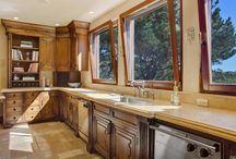 Kitchen Ideas | Dream Kitchens / Kitchen ideas and photos of dream kitchens in Marin County, California homes. #kitchenideas #kitchen #remodel