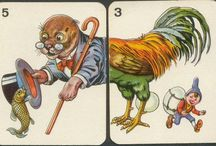 Kártyajáték - környezetismeret 1. osztály / Állatok két felének párosítása