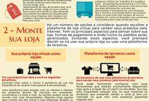 Empreendendo na internet / Infográficos, dicas rápidas, SEO, imagens diversas e outras informações sobre empreendedorismo digital, E-commerce e outras formas de negócios que a internet tem a oferecer.