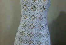 Vestidos crochet chique