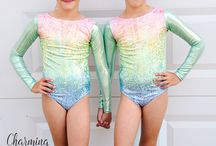 Girls Gymnastics Leotards and Dancewear