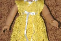 American Girl Knitted outfits