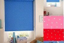 Roller blind for baby nursery, children's room / Roller blind